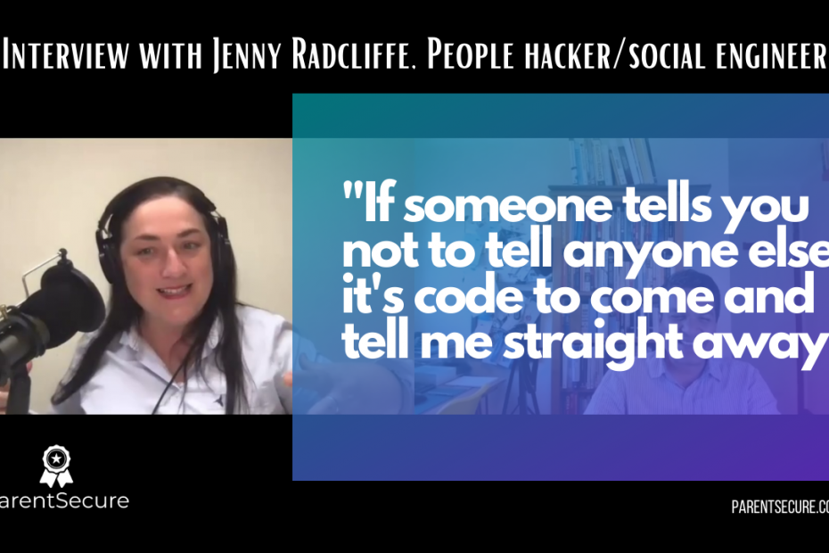 PS interview with Jenny Radcliffe